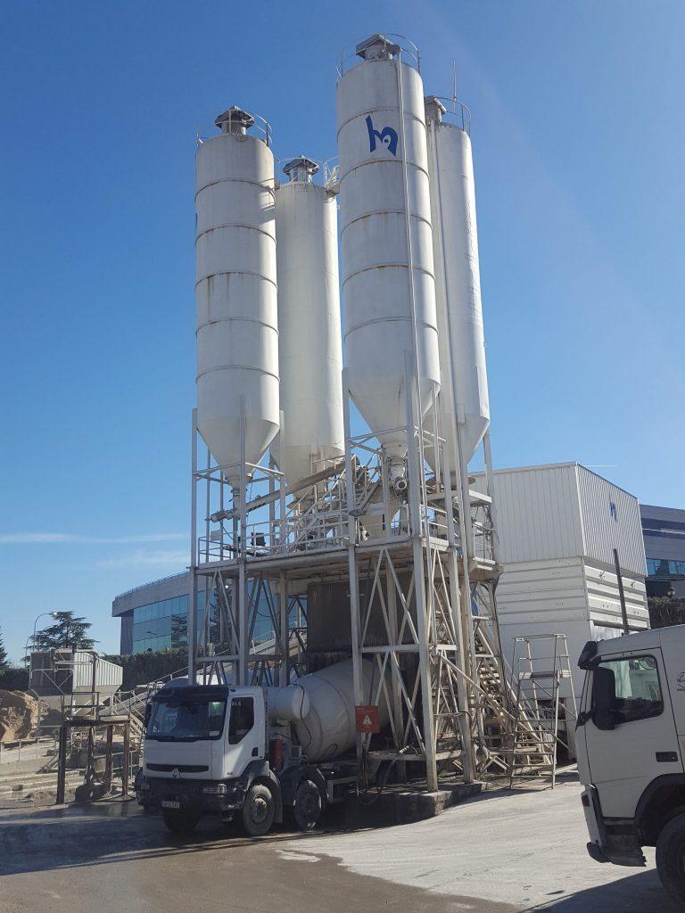 Fabrica de hormigón y mortero en Alcobendas Madrid